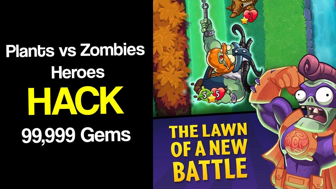 Plants Vs Zombies Heroes Unlimited Gems