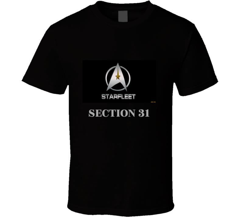 Star Trek Starfleet section 31 Polo Shirt