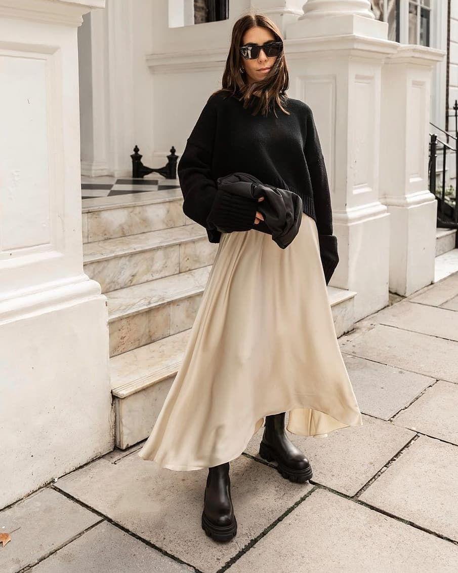 "status:LUSSO on Instagram: ""STYLE INSPIRATION Black & White Chic @_jessicaskye 💯 .... #styleoftheday #streetstyle #minimalstyle #minimalism #minimalfashion…"""