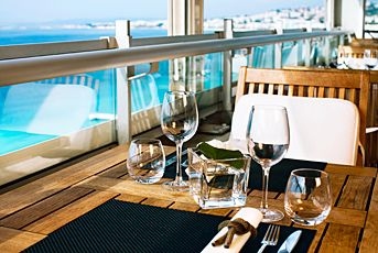 Le Meridien Nice, France. A chic contemporary setting with unforgettable views over the Baie des Anges. #SPG, #travel, #romantic, #memberfav