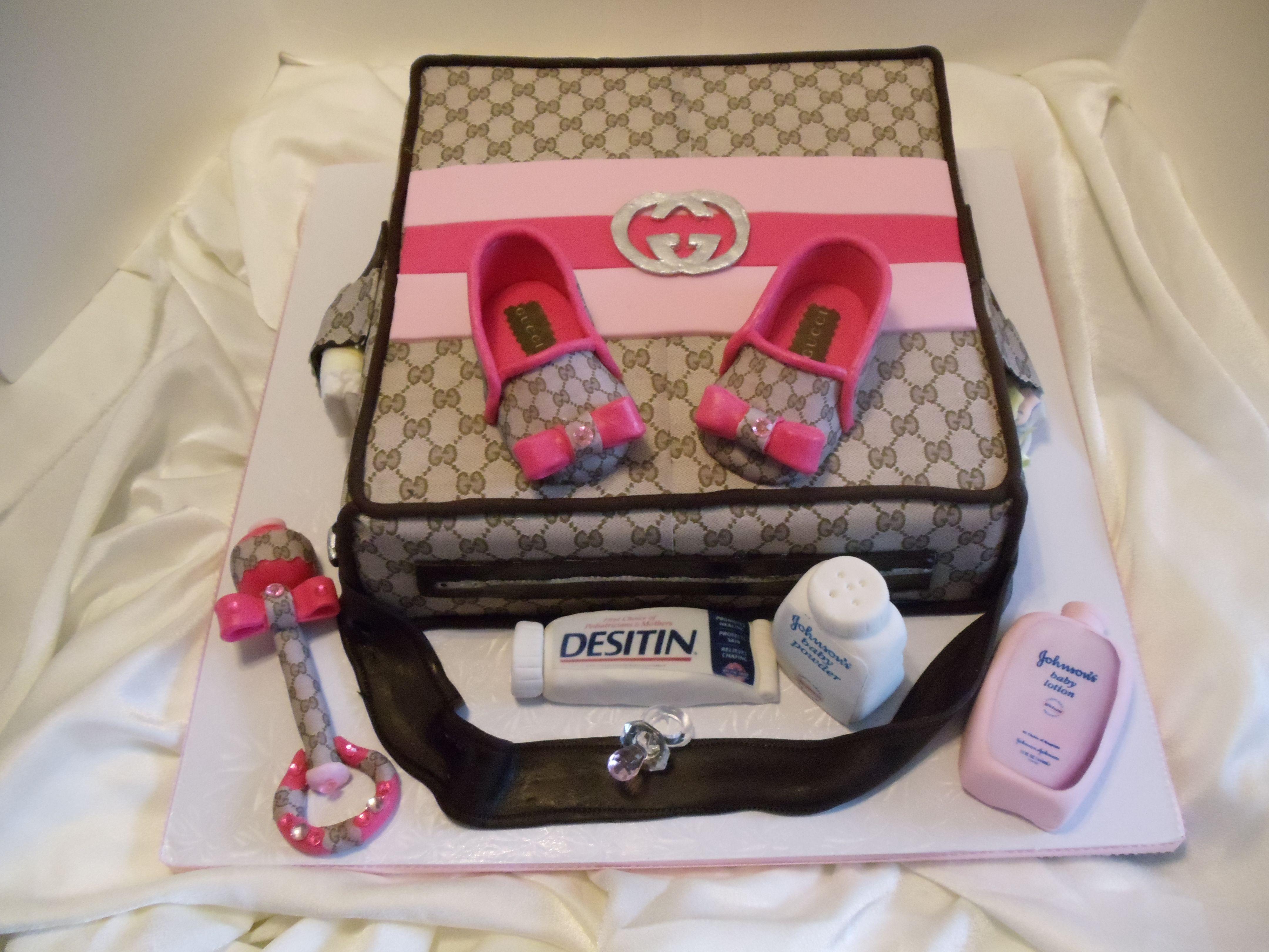 coach bag baby shower cakes girlfriend