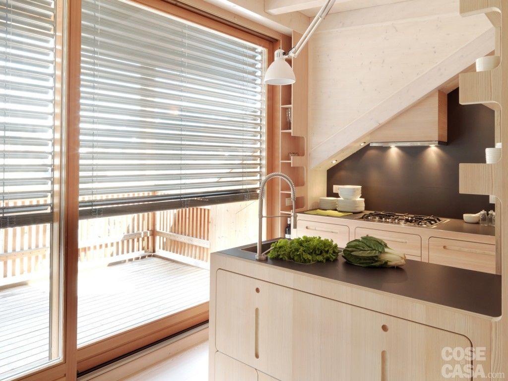 Piano Cucina Gres Opinioni casa di montagna sfruttata al centimetro | home decor