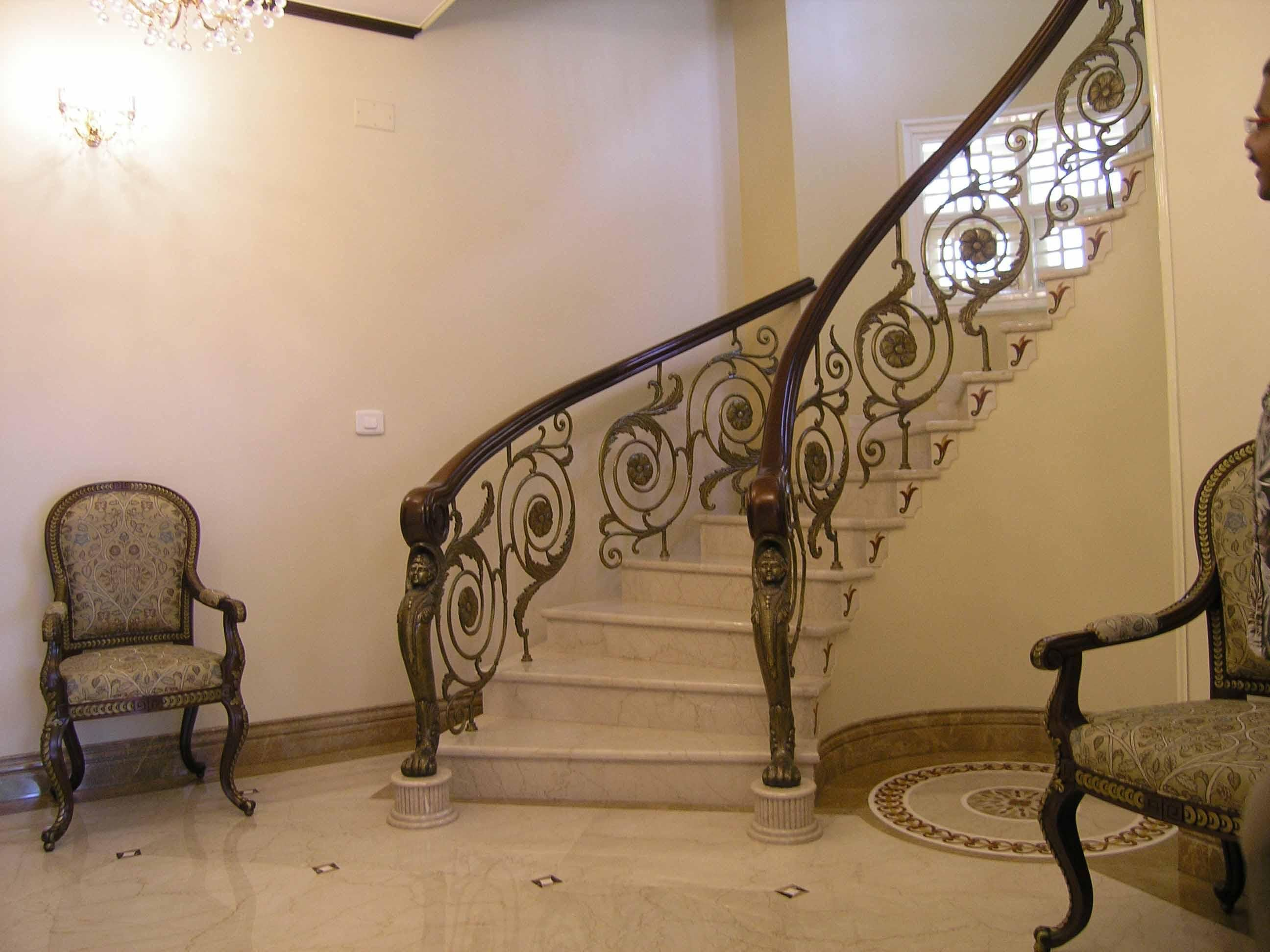 Best Steel Staircase Railings Interior Stair Railing Ideas 400 x 300