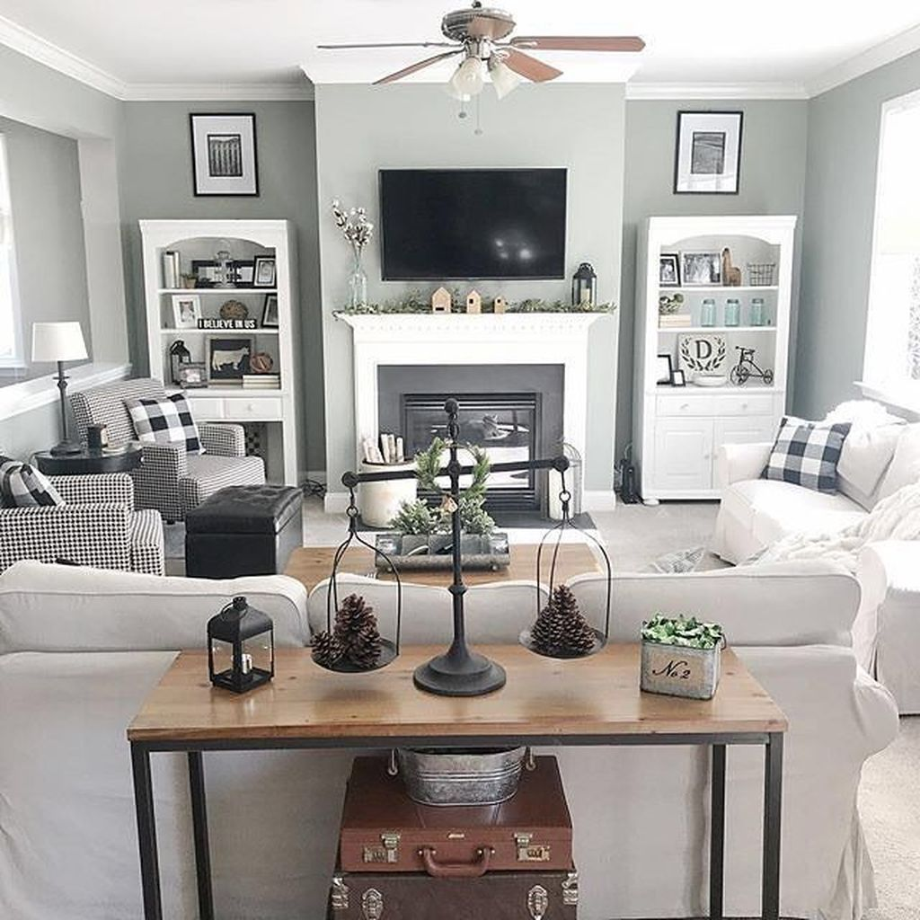 49 Cool Design Layout Ideas For Family Room images