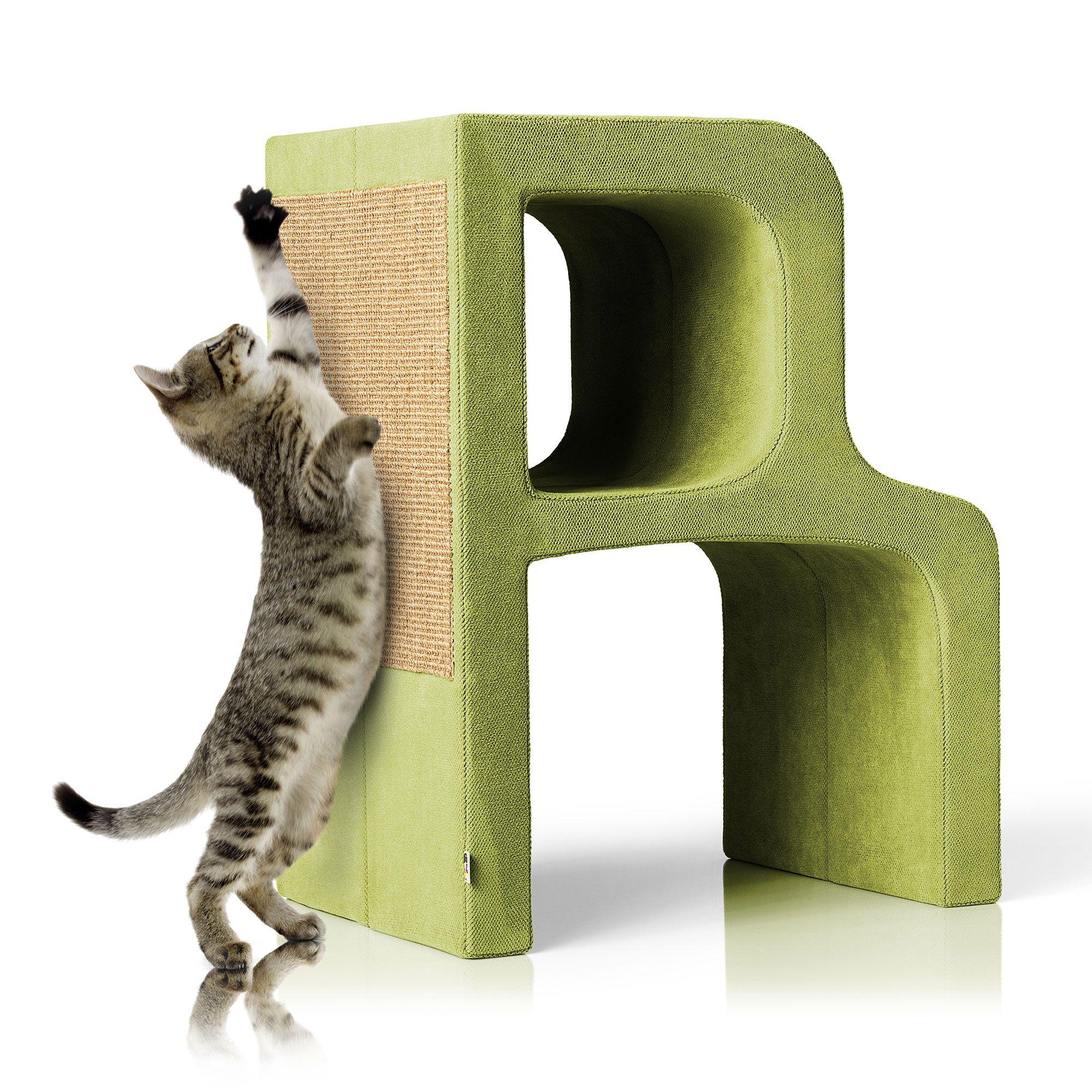 buchstaben kratzbaum r alles f r die katz alles in gr n kratzbaum katzen und katzen bett. Black Bedroom Furniture Sets. Home Design Ideas