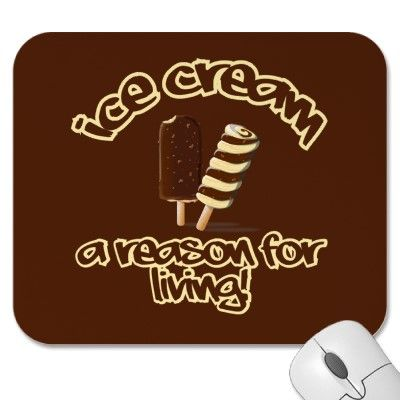 Funny Ice Cream Mousepad