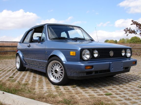 1989 Volkswagen Cabriolet Convertible I Did Once Own One Wish I