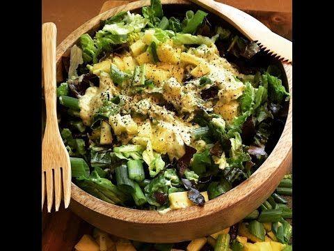 Photo of Vinaigrette crémeuse à l'ananas :) Vegan cru faible en gras YUM!