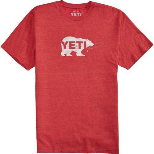 Yeti Men's Salmon on the Fly Short Sleeve T-shirt