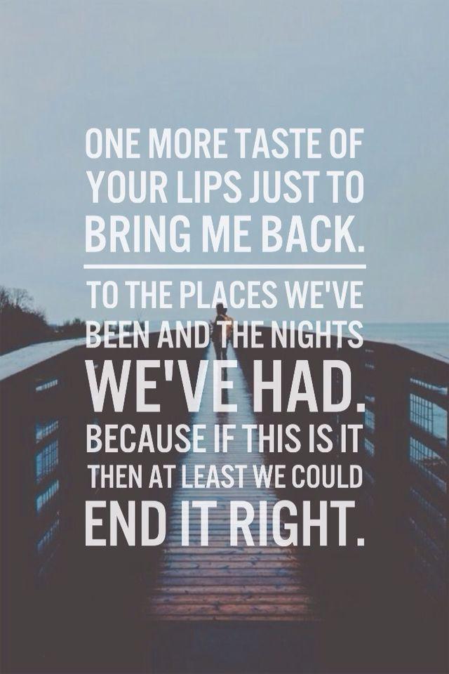 OneDirectionLyrics #MadeInTheAM Baby let me love you goodbye ...