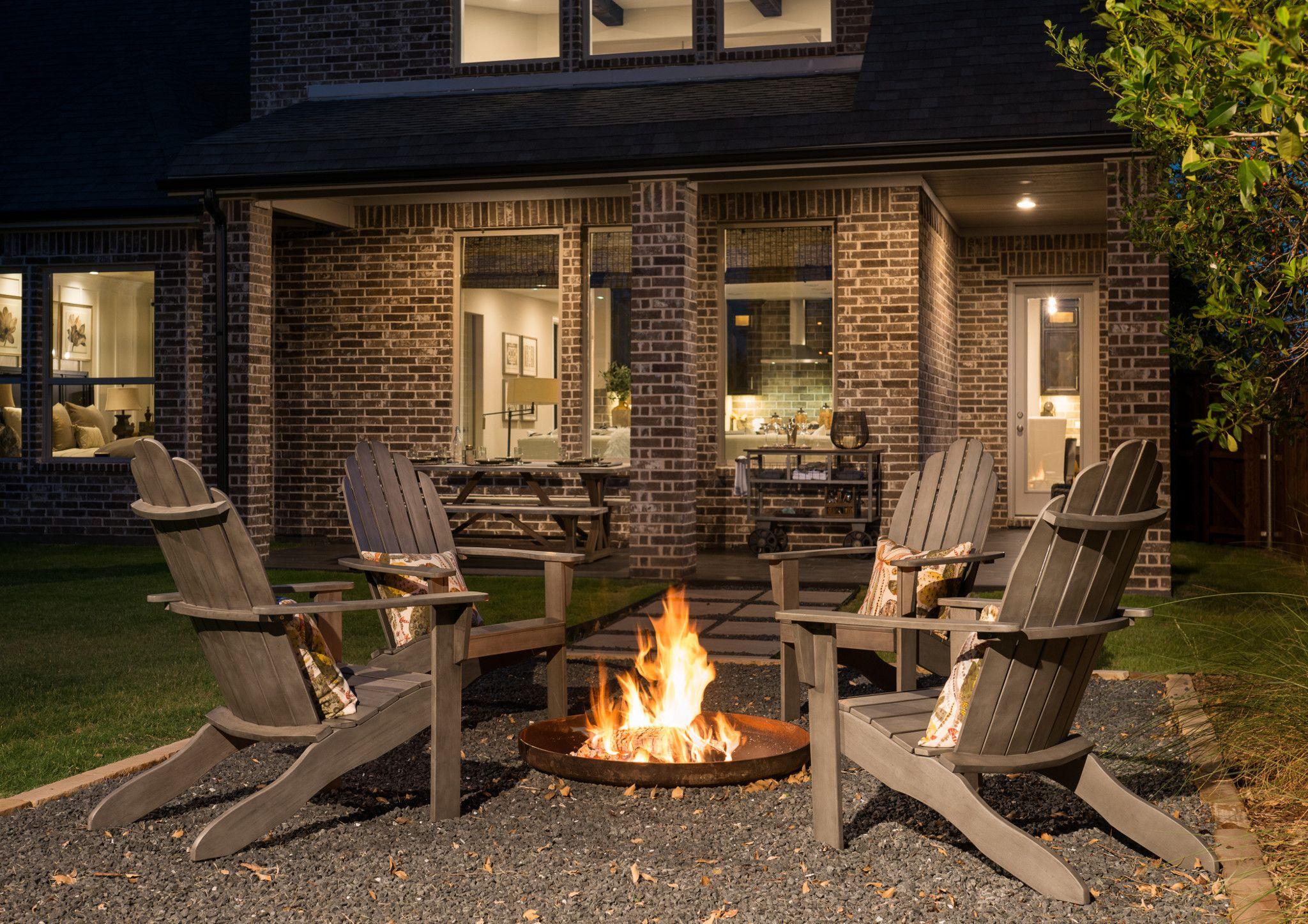 Canyon falls indoor fireplace backyard indoor outdoor