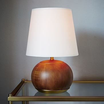 179 West Elm Rejuvenation Mid Century Wood Table Lamp Small Westelm With Images Table Lamp Wood Modern Table Lamp Wooden Lamps Design