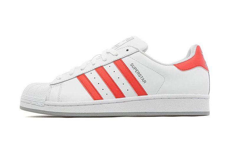adidas Originals Superstar WhiteRed JD Sports Exclusive