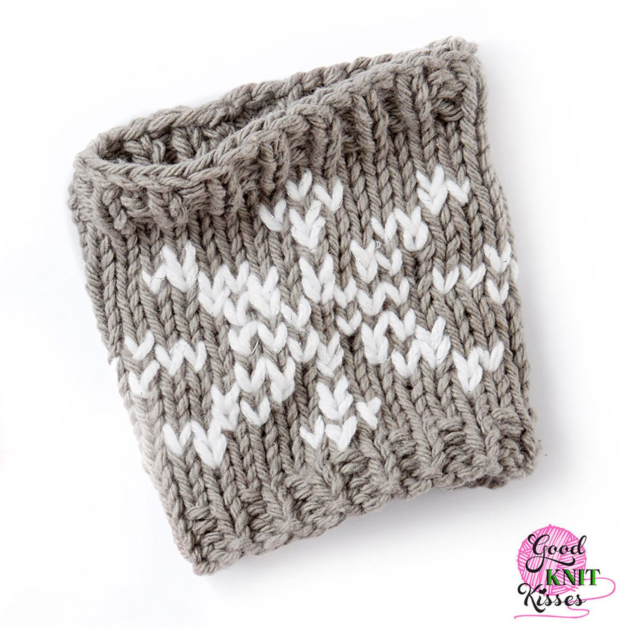 Bernat Knit Snowflake Mug Hug | Knit Gifts | Ganchillo, Proyectos