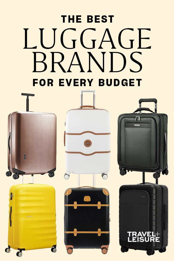 Travel + Leisure has combined all of the best luggage brands for carry on luggage for your budget. Click to see more of the best quality suitcase bags for traveling without spending a fortune. #CarryOn #Suitcase #Budget #BudgetTravel #Luggage #Travel #BestBags #TravelTips #PackingHacks #HowtoPackLight | Travel + Leisure - The Best Carry-On Luggage