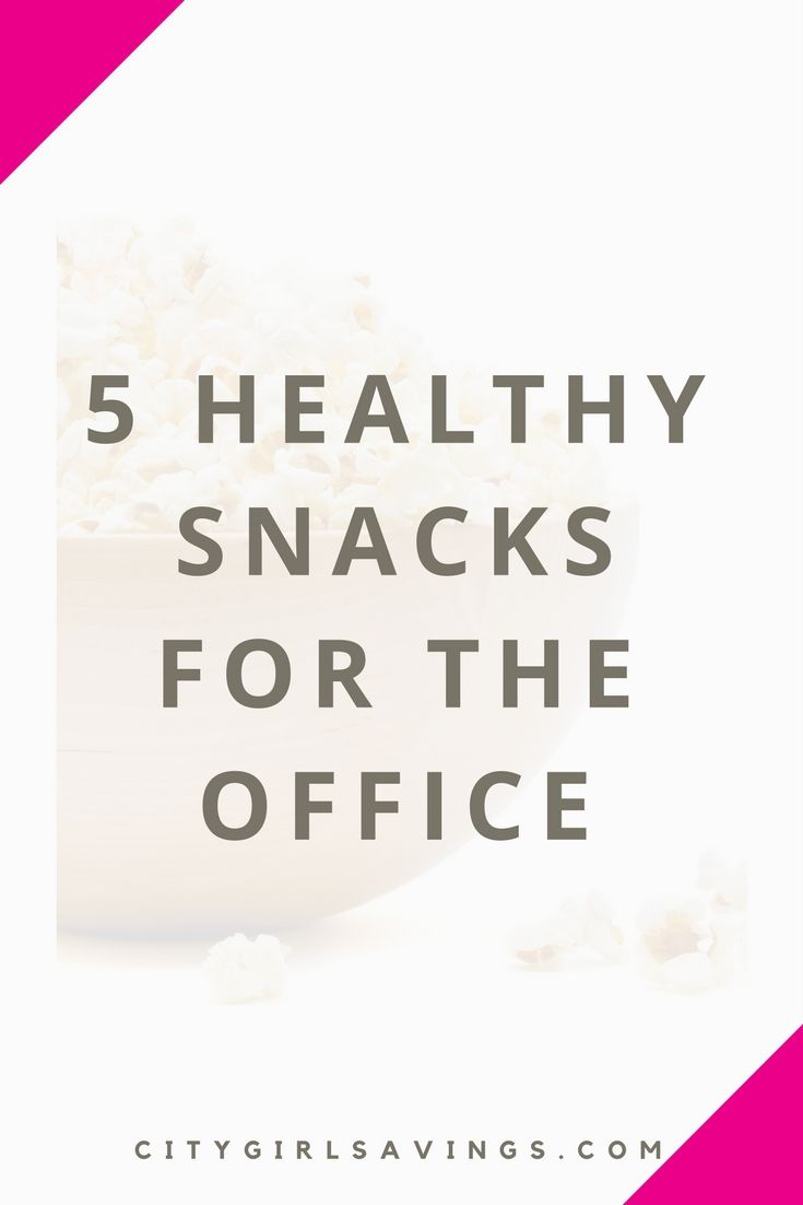 When we're at work, we may be working so hard we ignore our hunger, only to binge eat something that kills the diet. Instead of not eating or overeating, the CGS Team is sharing 5 snacks that are portable, healthy and 100% safe to eat in the workplace.   Healthy eating, workplace snacks, active living, healthy lifestyle, diet and fitness.