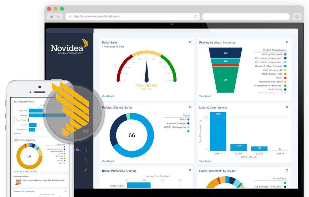Novidea Insurance Brokerage Management System Management