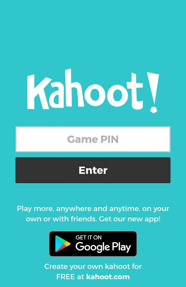 Página para unirse al juego. Game based learning, Games