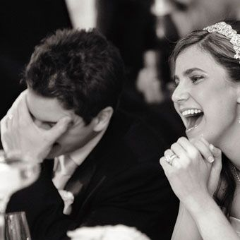 i want to laugh like this at my wedding