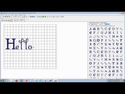 How to add purchased fonts using Sew What Pro | Embroidery Machine