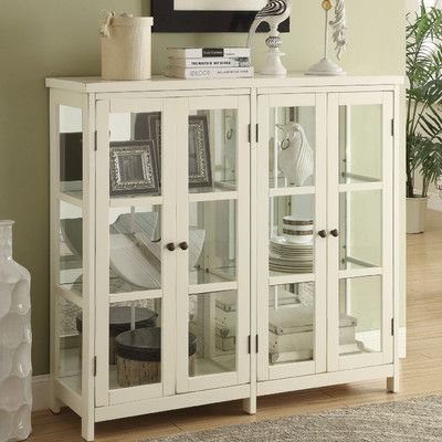 Beachcrest Home 4 Door Accent Cabinet