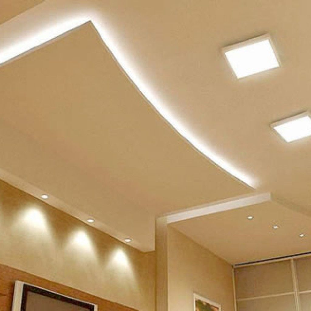 Unique False Ceiling Designs With Plain False Ceiling Design Also