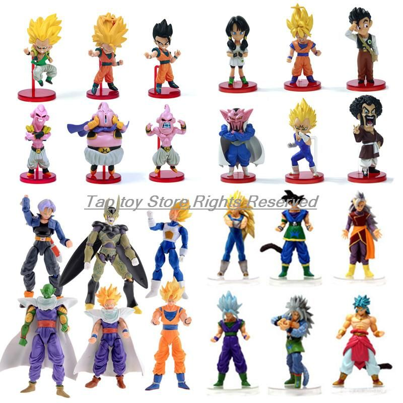 Japan Anime Dragon Ball Z Action Figure Dragonball Z DBZ Toy Goku Piccolo Set US