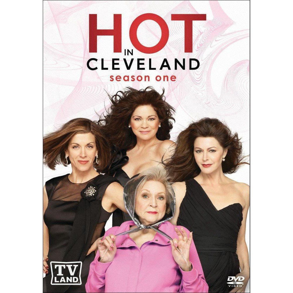 Hot In Cleveland Season One 2 Discs Betty White Jane Leeves Best Tv Shows