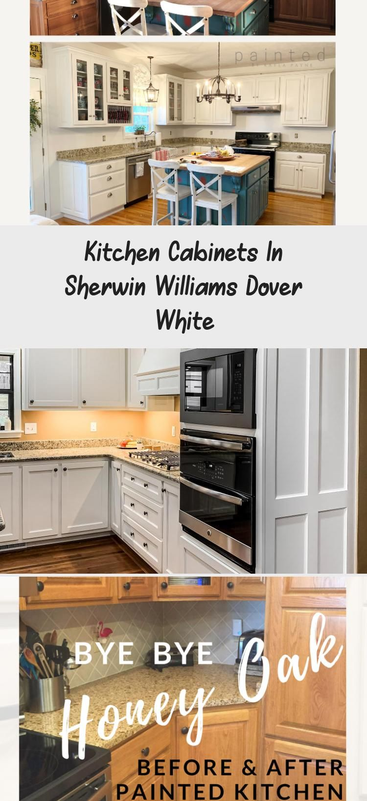 Kitchen Cabinets In Sherwin Williams Dover White Sherwin Williams Dover White White Kitchen Decor Kitchen Colors