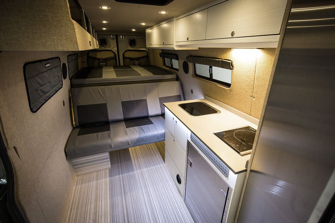 Portland Based Outside Van Specialize In Converting The Mercedes Sprinter Into A Drool Worthy Tricked Out Camper With Loads Of Interior Space