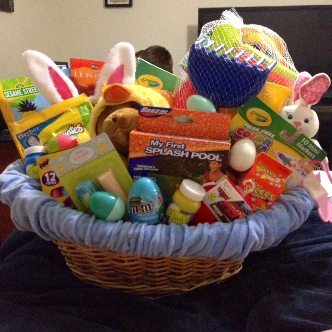 Rileys easter basket one year old holiday pinterest easter rileys easter basket one year old negle Images