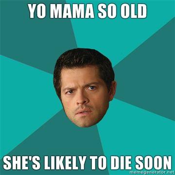 Yo mama so old