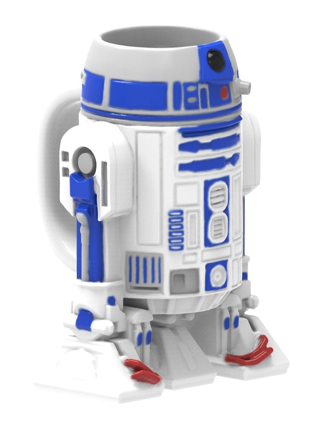 Amazon Com Zak Designs Sculpted Ceramic Mug In Shape Of Bb 8 From Star Wars The Force Awa Star Wars Collection Star Wars R2d2 Star Wars Merchandise