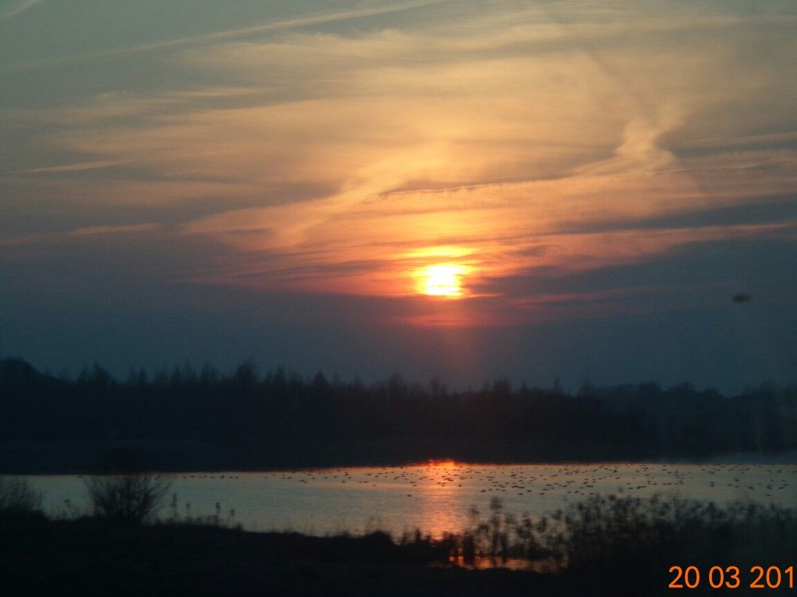 So very quite place! Lake in Dzyarzhinsk, Belarus