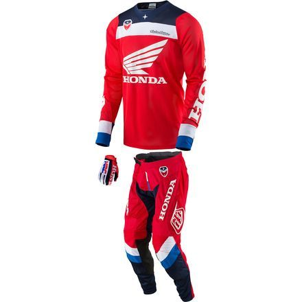 Troy Lee Designs 2017 Se Air Combo Corsa Honda 2017 Motocross
