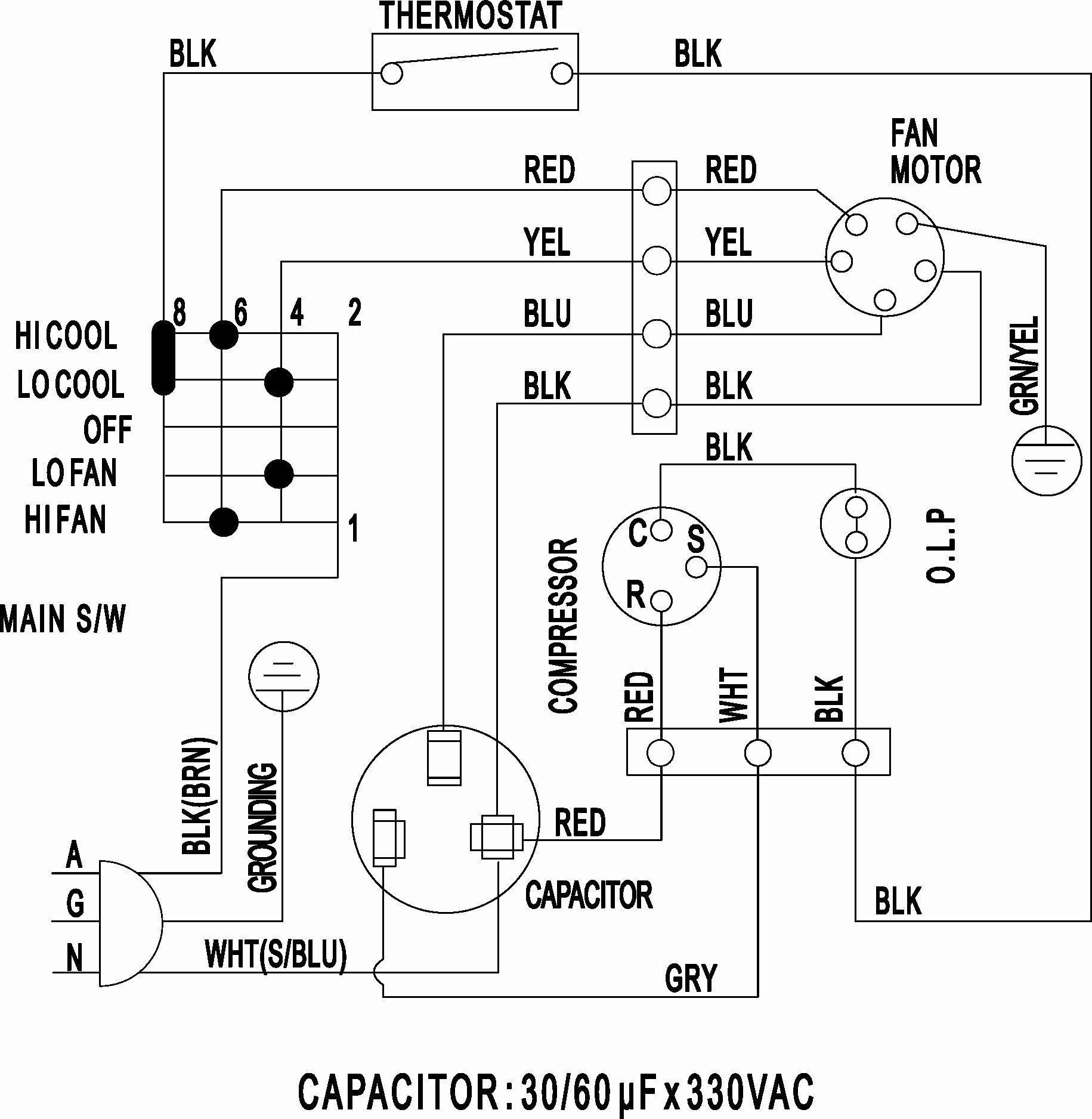 Wiring Diagram Symbols Chart Split Air Conditioner Wiring Diagram Hvac  Condenser Wiring Diagram Fres | Hvac Condenser Wiring Schematic |  | Pinterest