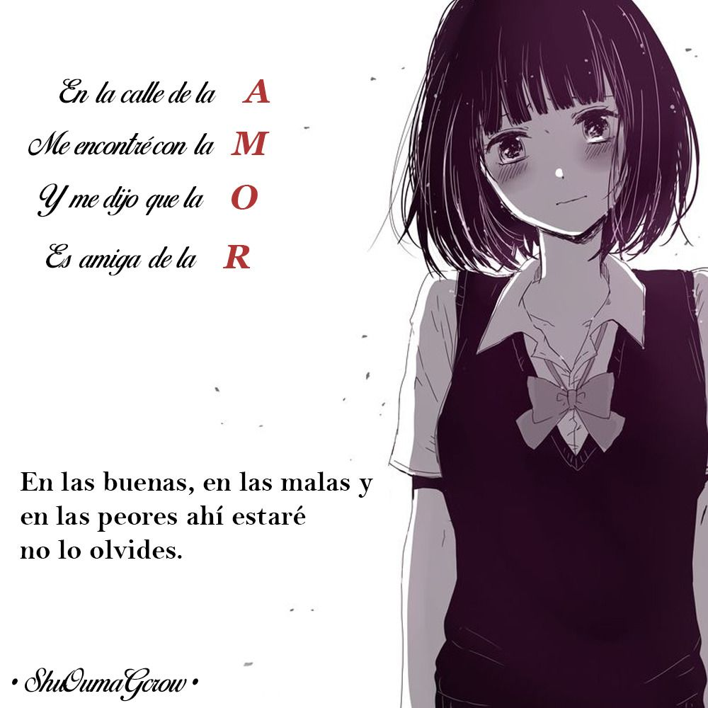Amor Shuoumagcrow Anime Frases Anime Frases Vocaloid Sad