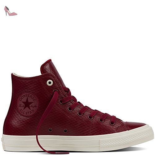 Converse All Star II Leather chaussures red block ...
