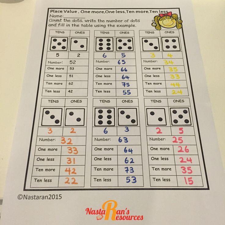 1st Grade Math Worksheets Common core math, 1st grade