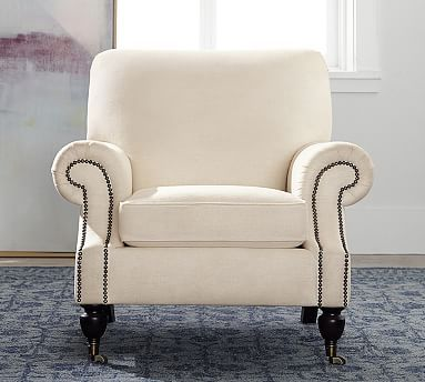 Brooklyn Upholstered Armchair | Pottery Barn