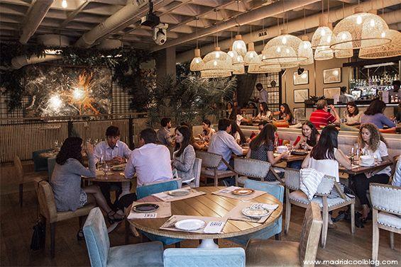 Cocina internacional en el restaurante marieta en castellana restaurants in madrid madrid - La marieta madrid ...