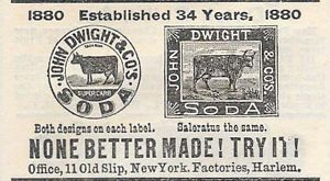 bicarbonate de soude 1880