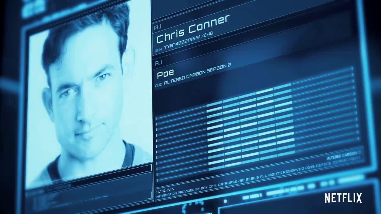Netflix Altered Carbon Season 2 Cast Announcement Hd Ad