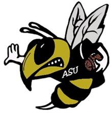 Alabama State University Logo Alabama State Univ Invitational