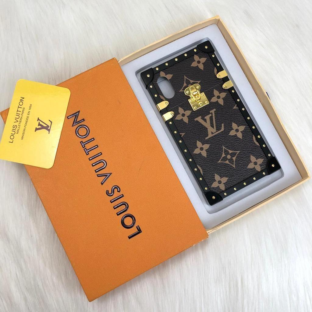 Louis Vuitton Eye Trunk Iphone X Phone Case Louisvuittonbags Louis Vuitton Phone Case Luxury Iphone Cases Diy Phone Case