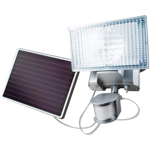 4449 L 100 Led Outdoor Solar Security Light Solar Security Light Security Lights Solar Motion Lights