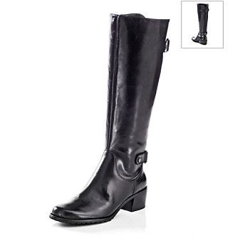 "anne klein evanthe wide calf riding boot | Product: AK Anne Klein® ""Evanthe"" Wide Calf Riding Boot - Black"