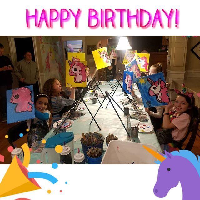 Happy Birthday Gabby! #mobilepaintparty