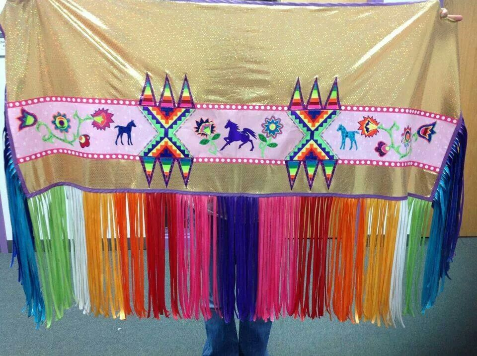 Lee becenti fb fancy shawl regalia powwow regalia