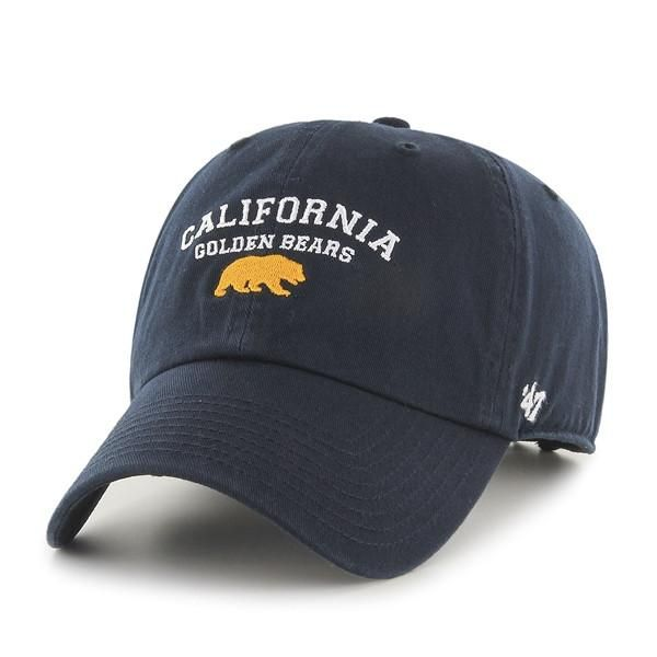 48f306a71bd95 California Golden Bears 47 Washed Twill Adjustable Cap- Navy-Shop College  Wear
